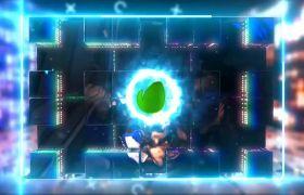 AE模板 动感音乐会DJ派对片头led配景视频模板 AE素材