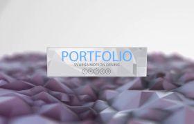 AE模板 炫彩光晕粒子拼接标题字幕动画模板 AE素材