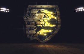 AE模板 都会夜生存俱乐部标记性灯光切换展现 AE素材