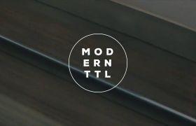 AE模板 时髦都会夜景配景幻灯标题字幕展现模板 AE素材