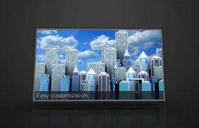 AE模板 经典扁平化企业文化介绍宣传片模板 AE素材