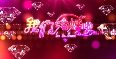 婚礼视频素材 婚庆视频素材 浪漫温馨开场舞台背景专题