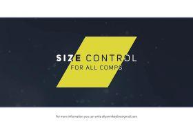 AE模板 经典简便标题字幕拼接滑动殊效展现模板 AE素材