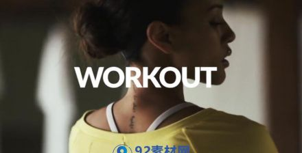 活力动感健身运动模板合集