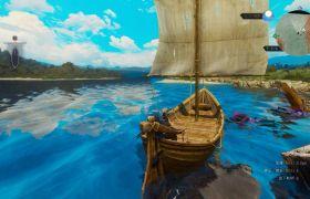 電腦PC《巫師3》游戲錄像 游戲視頻素材資源