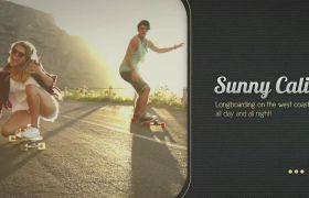 AE模板 现代时尚图像视频幻灯片模板 AE素材