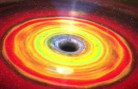 银河星系活动模仿配景视频素材