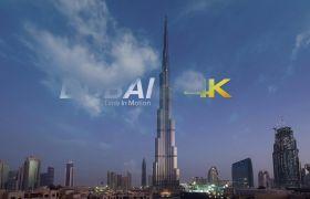 海信4K演示片迪拜DuBai城市风景4K延时摄影