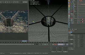 C4D-炫酷科技style场景(下)