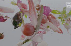 索尼HDR演示片4K高清视频 蔬菜水果食材食品