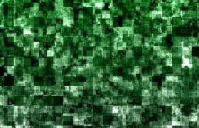 绿色马赛克幕布LED配景视频素材