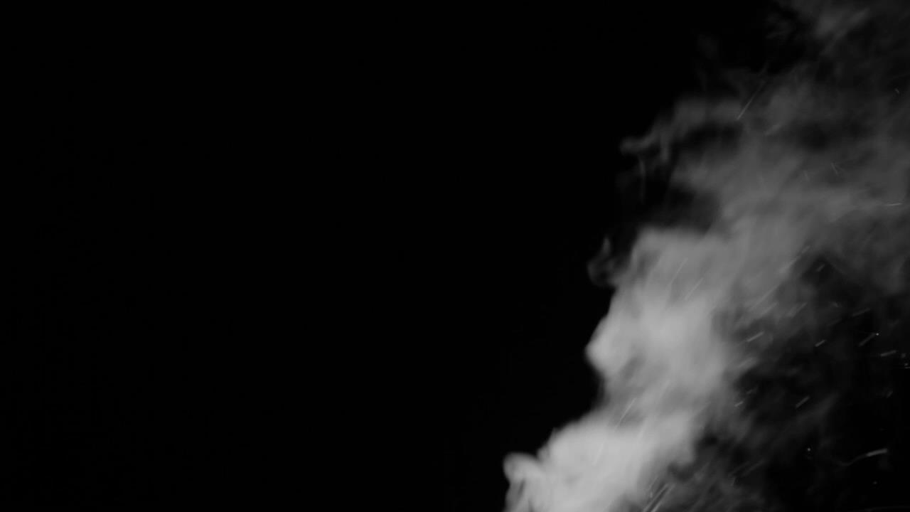 水蒸气粒子喷射效果背景视频素材