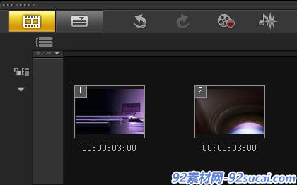 如何制作视频网孔转场1
