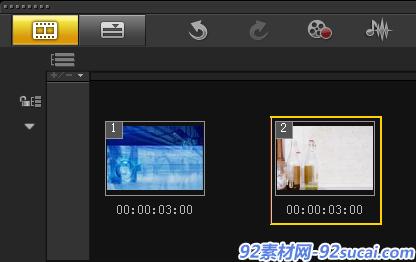 如何制作视频流动转场1