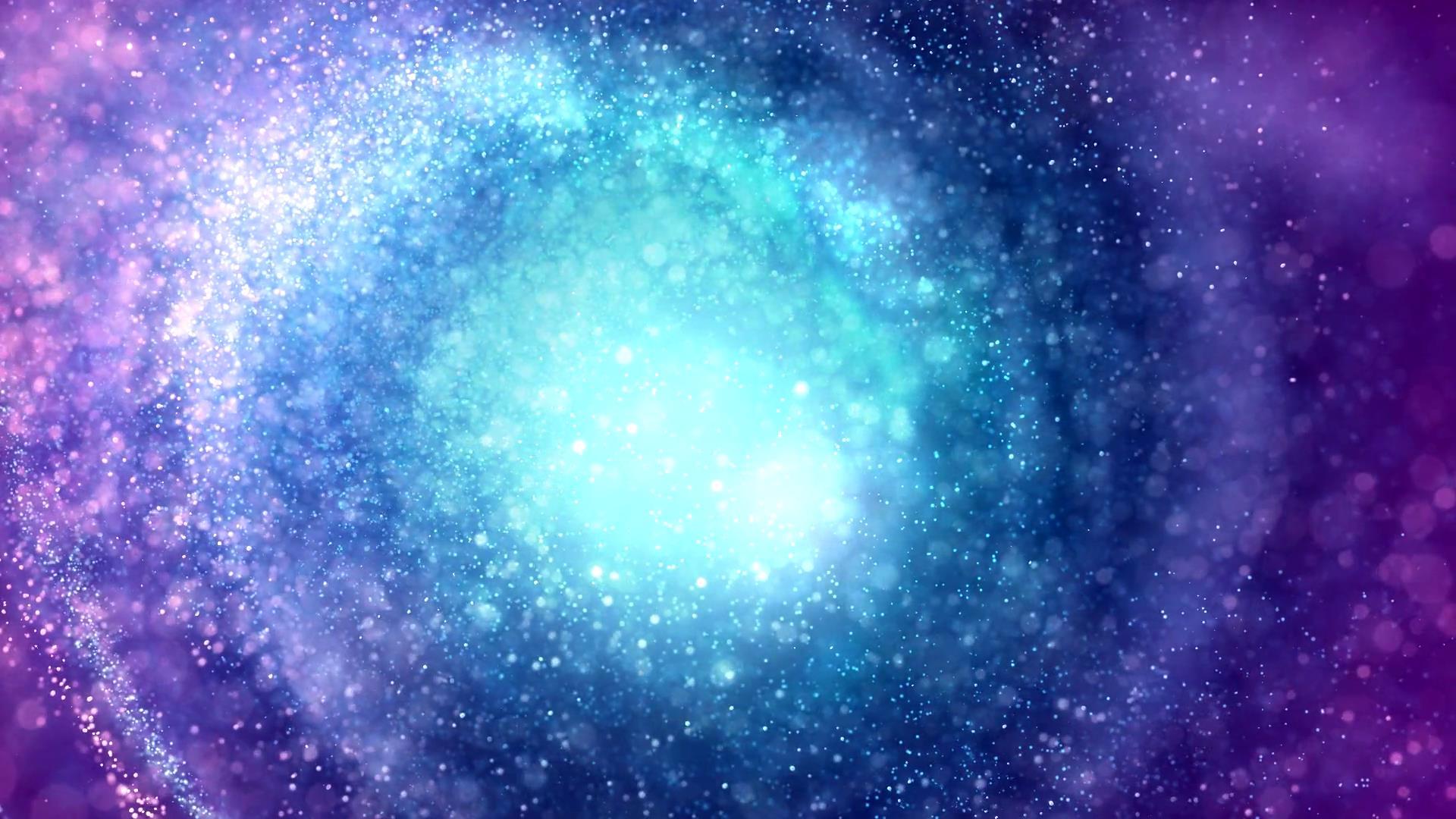 唯美银河系粒子星云特效-背景视频-92素材网_ae模板