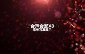 AE模板 会声会影X8浪漫恋人节钻石滤镜写真模板 AE素材