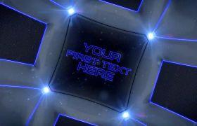 AE模板 立体化球体内部旋转视频包装展示模板 AE素材
