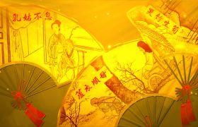 傳統文化傳承中華孝道家訓宣傳視頻