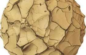 C4D贴图-干旱开裂的土地贴图