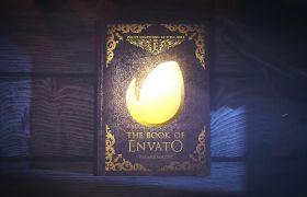 AE模板 复古神秘书籍翻页文字消失动态相册模板 AE素材