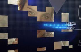 AE模板 时髦科技感方格图文写真展现edius模板 AE素材