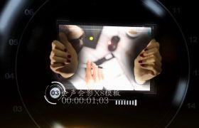 会声会影X8? 商务图文手触屏特效宣传会声会影X8模板