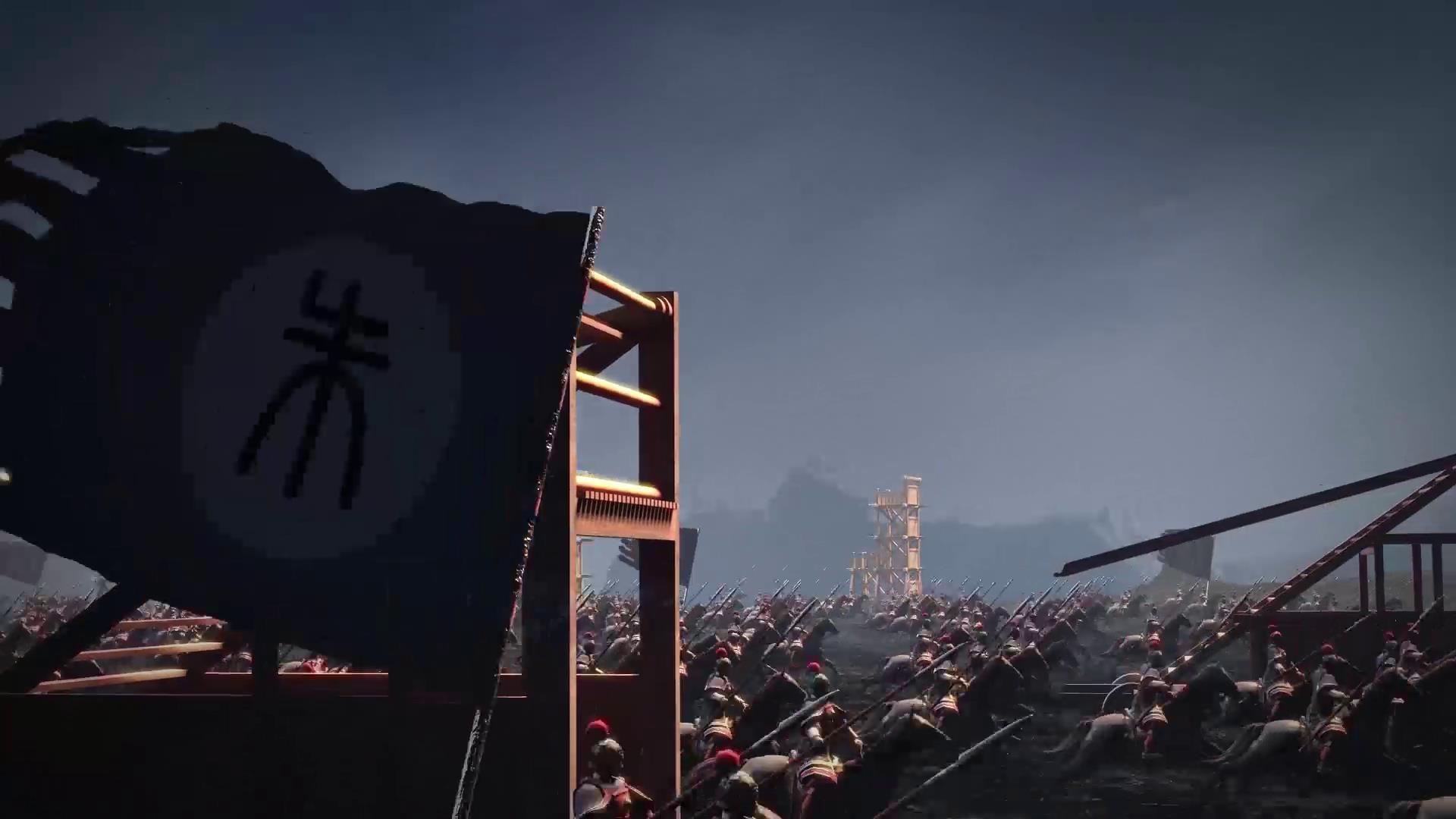 中国古代军事战争打仗攻城场面动画视频-92素材网_ae