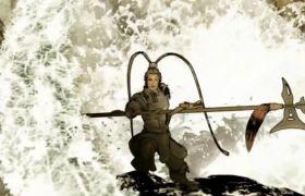 古代人物戰斗歷史長河宣傳視頻素材