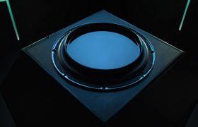 索尼音响产品声音波动形象艺术短片