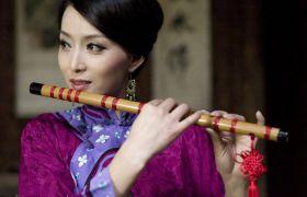 音乐素材 中国古典竹笛笛子名曲古曲