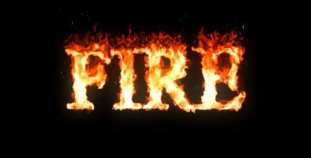 炫酷火焰熄灭logo图文专题