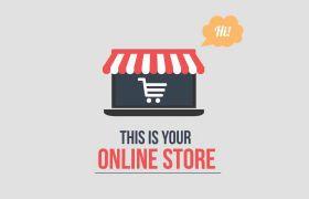AE模板 全球金融网络购物销售设计元素图标动画模板 AE素材