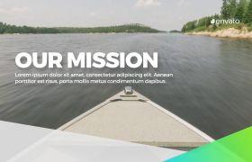 AE模板 企业商务化风格图文排版幻灯片介绍展示模板 AE素材