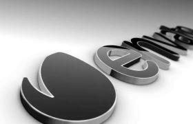 AE模板 优雅经典玄色腻滑质感logo模板 AE素材