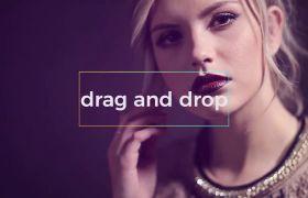 PR模板 女性時尚欄目視頻包裝展示PR開場片頭模板