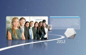 AE模板 弱小的商务企业公司宣传引见展现动画模板 AE素材
