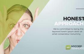 AE模板 商务企业公司展示排版介绍宣传幻灯片模板 AE素材