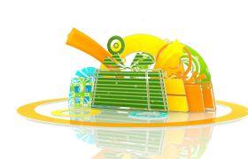 节日礼物商品盒子包装动画视频素材