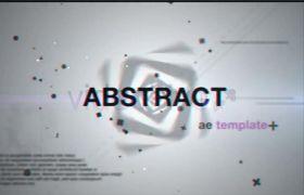 AE模板 抽象视觉特效视频包装展示动画开场模板 AE素材