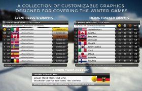 AE模板 体育运动会比赛结果动态字幕条栏目包装模板 AE素材