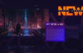 AE模板 未来神秘电影宣传数字幻灯宣传模板 AE素材