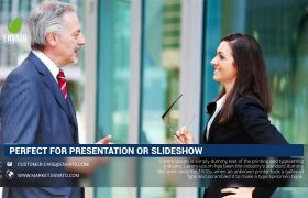 AE模板 简洁优雅企业文化宣传图文包装模板 AE素材