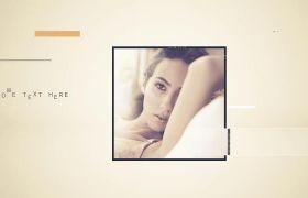 AE模板 现代优雅写真相册图文包装展示模板 AE素材