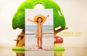 AE模板 儿童梦想童趣玩具卡通电子相册模板 AE素材