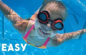 AE模板 清新夏日海边度假相册快闪标题模板 AE素材