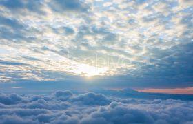 天空云层日出黎明高清视频素材
