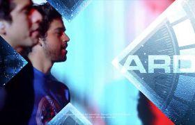 AE模板 动感体育运动视频展示栏目包装模板 AE素材