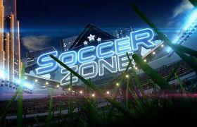 AE模板 炫酷体育运动足球比赛直播栏目包装模板 AE素材