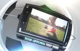 AE模板 足球等球类体育运动栏目包装视频模板 AE素材