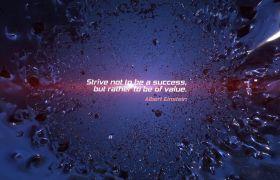 AE模板 炫酷震撼爆炸标题字幕logo预告片模板 AE素材